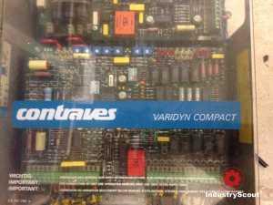 Contraves Stromrichter für 4 Quadrant Antrieb