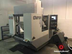 Chiron FZ 12 W high speed Vertikales Bearbeitungszentrum