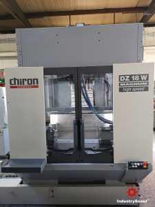 Chiron Doppelspindel Typ DZ 18 W Magnum high speed