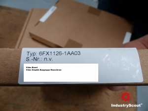 6FX1126-1AA03 Siemens Sinumerik Graphik Baugruppe